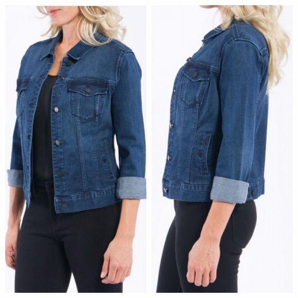 Liverpool Jeans Kolten Denim Jacket Soft Nwt Coats