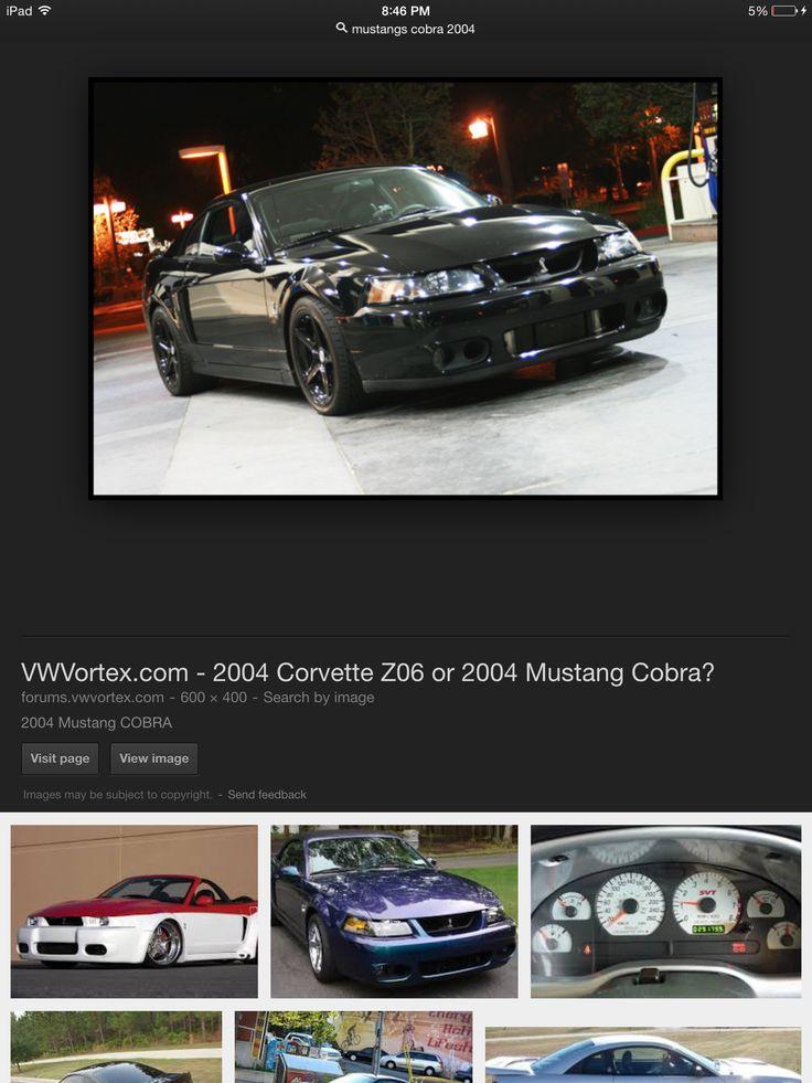 Mustangs 2004 corvette, Mustang, Mustang cobra