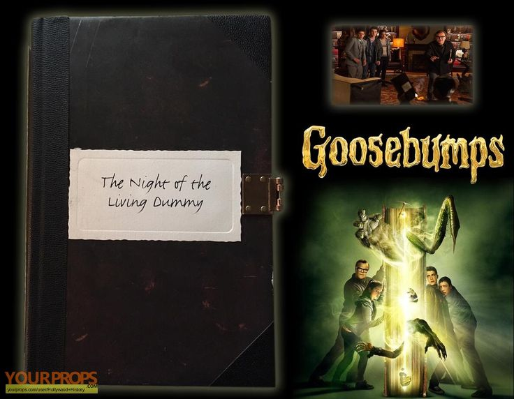 The Night of the Living Dummy Manuscript Movie Prop-Goosebumps (Film 2015)