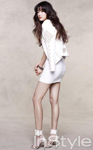 Jeon Ji-hyun // InStyle Korea