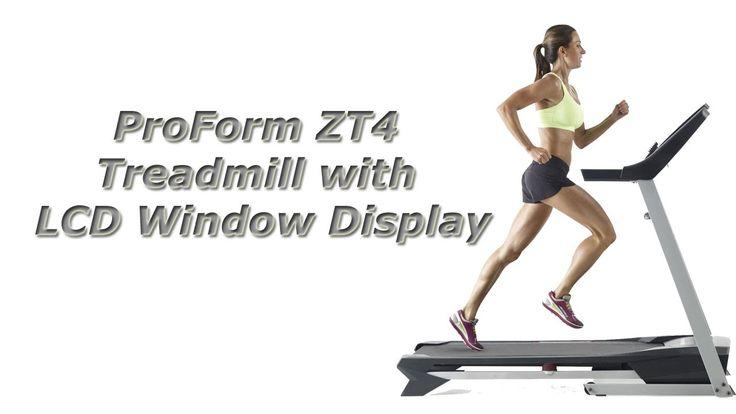 ProForm ZT4 Treadmill Review Manual...