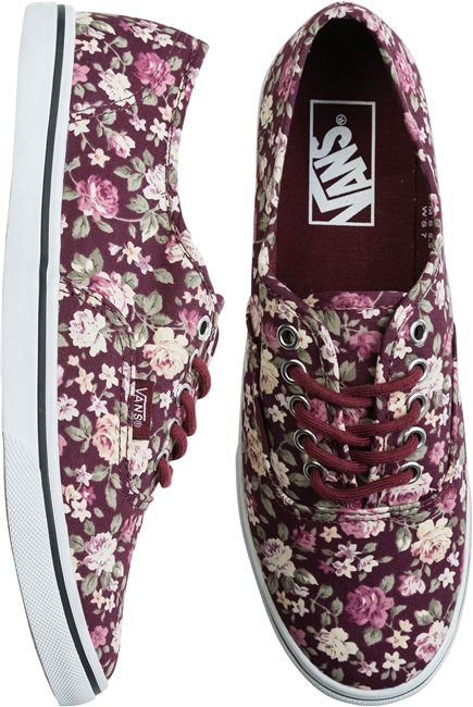 These are girlie Vans.