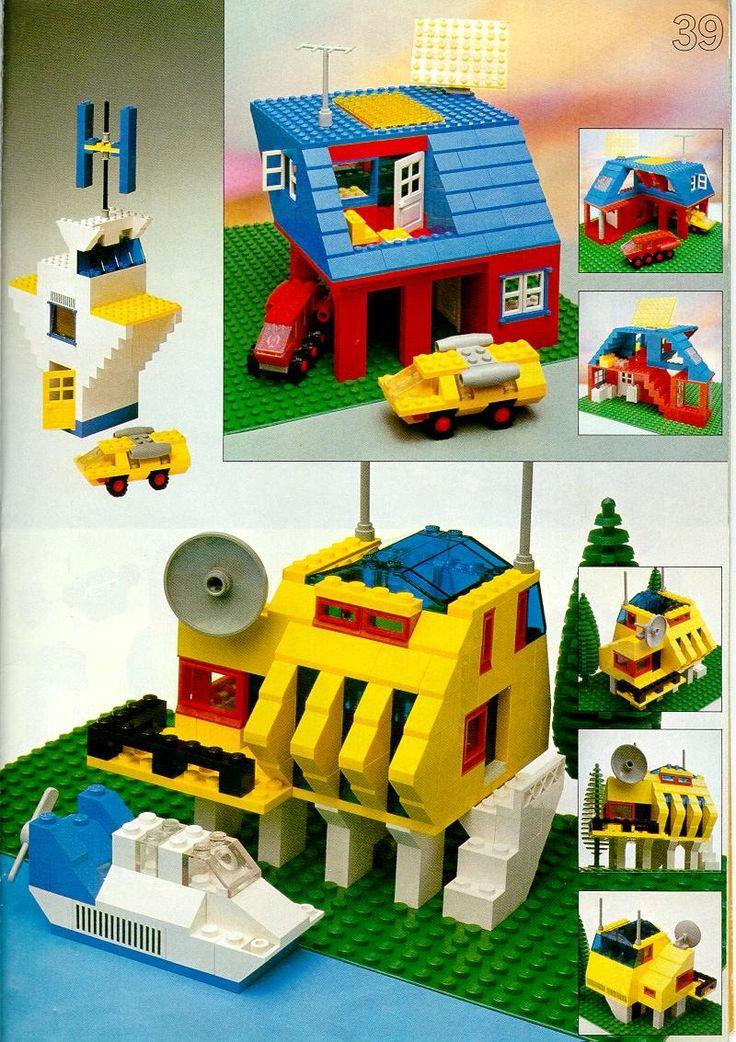 Books Building Ideas Book [Lego 226] in 2020 Lego