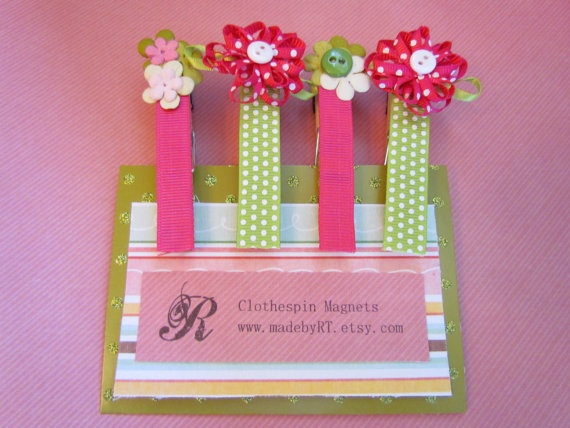 mom's day maybe?Kids Glue, Pin Magnets, Mothers Day Ideas, Crafts Projects, Maybe Repin By Pinterest, Clothespins Magnets, Mothers Day Crafts, Holiday Mothers, Clothing Pin
