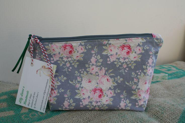 gorgeous Tilda fabric make up bag
