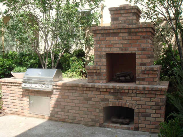 21 best outdoor fire place BBQ combo images on Pinterest ...