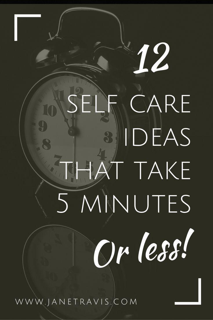 Zu beschäftigt für die Selbstversorgung? Müll! Hier sind 12 Self-Care-Ideen, die nur 5 mi dauern …   – Work