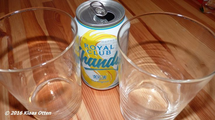 We hebben het geproefd! Maar niet de smaak van vroeger! 😉 #Shandy #RoyalClub , Overigens tegenwoordig in #blik!