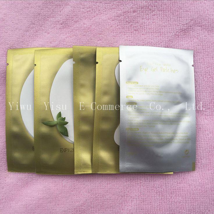 500 paia/pacco Patches Carta Ciglio Sotto Pads Eye Lash Extension Ciglia di Carta Patch Occhio Consigli Sticker Involucri Make Up Tools