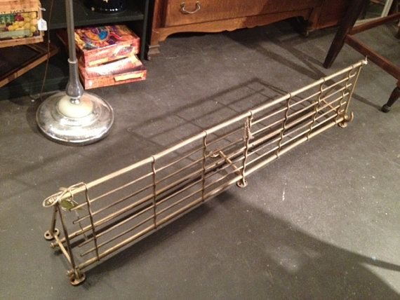 Vintage Brass Train Coat And Hat Rack By Upcycledupstyled