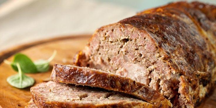 minced pork meatloaf