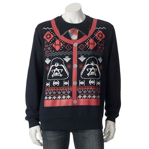'Star Wars' Ugly Christmas Sweaters Will Bring The Force To Your Family Holiday Dinner