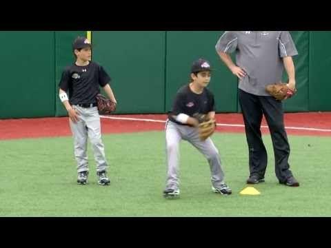 Ripken Baseball Fielding Tip - Outfield Drop Step - YouTube