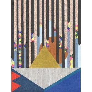 Download artwork - lisa lapointe original art print.  Available to buy online at Everything Begins/    #fineartprint #pencildrawing #art #artprint #artwork #artforsale #buyartonline #blue #folkart #red #pink  #pink #blue #gold #black #bright #colourful #pastel #love  #artforinteriors #wallart #walldecor #gicleeprint #limitededition