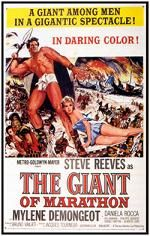 The Giant Of Marathon (1959) $19.99; aka: La Battaglia Di Maratona; Stars Steve Reeves, Mylène Demongeot and Sergio Fantoni. This film comes from a nice widescreen import print.