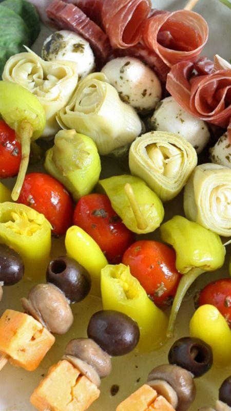 Italian Appetizer Recipe Skewers Italian Appetizers