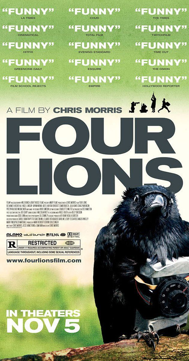 Directed by Christopher Morris. With Will Adamsdale, Riz Ahmed, Adeel Akhtar, Arsher Ali. Four incompetent British jihadists set out to train for and commit an act of terror. four lions