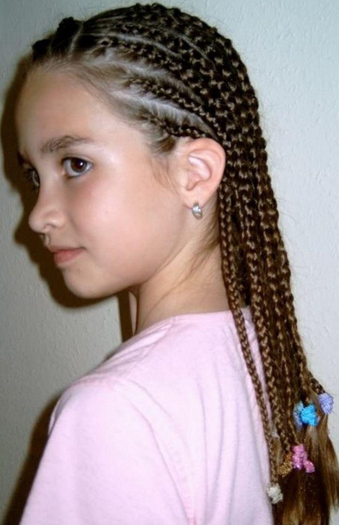 Lange Frisuren Fur Kinder Cornrows For Girls Hair Styles White