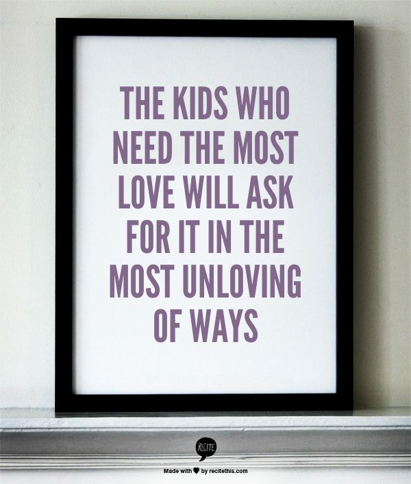 This is soooooo true. Can you tell its a cry for love is the question.