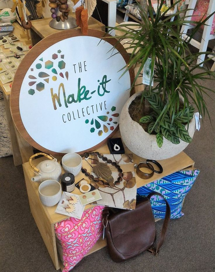 The Make-it Collective - find them in The Atrium at Federation Square on Friday 25 November from 5pm to 10pm.
