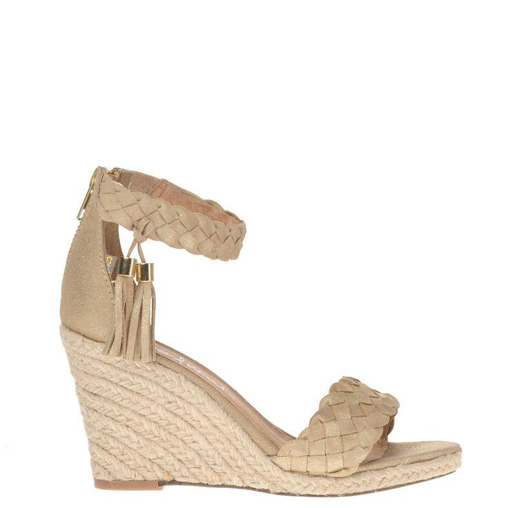 Poelman dames sandalen goud