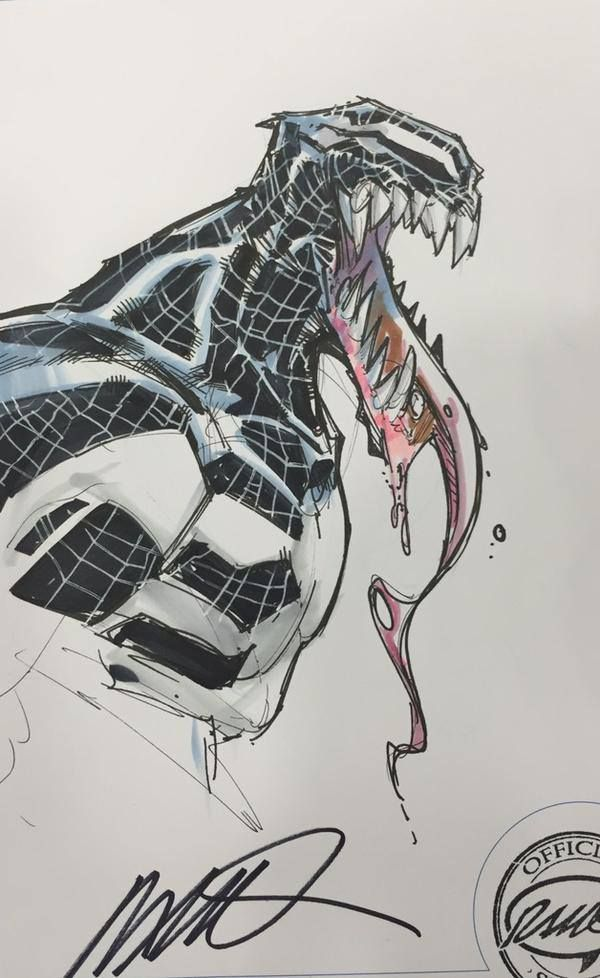 Spider-Gwen, Venom, Spider-Man, and Aracna by... - Art Vault