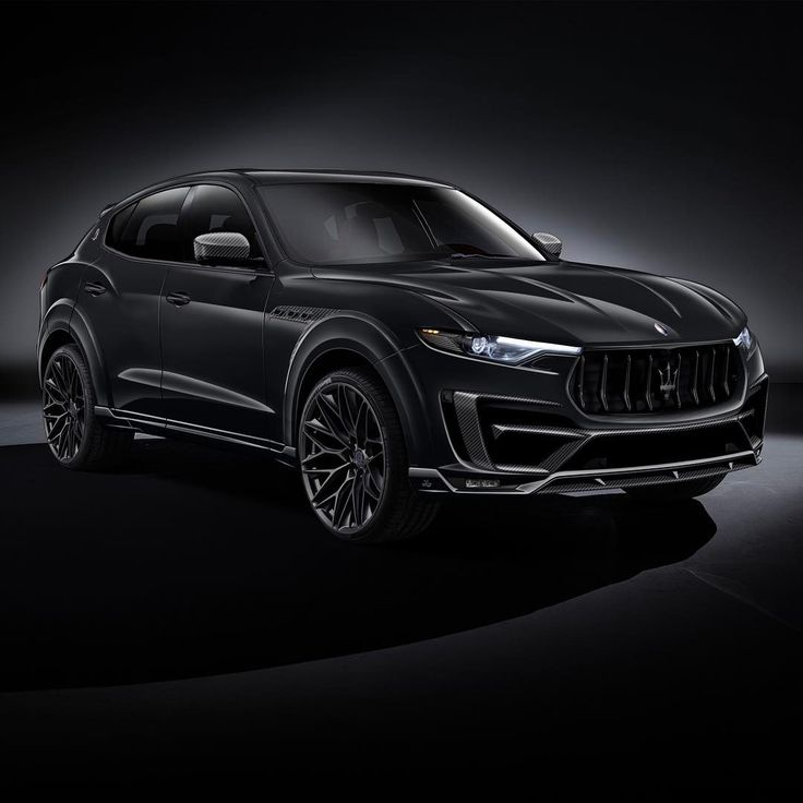 @lartedesign Maserati Levante. The upcoming tuning project represents the wide body kit, with a new design of the bumpers and carbon fiber parts. @lartedesign