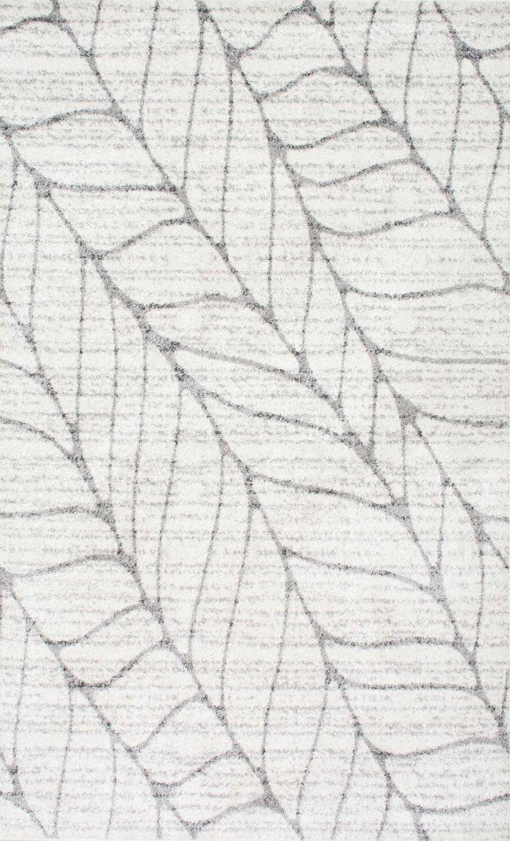 GraniteSM07 Abstract Leaves Rug