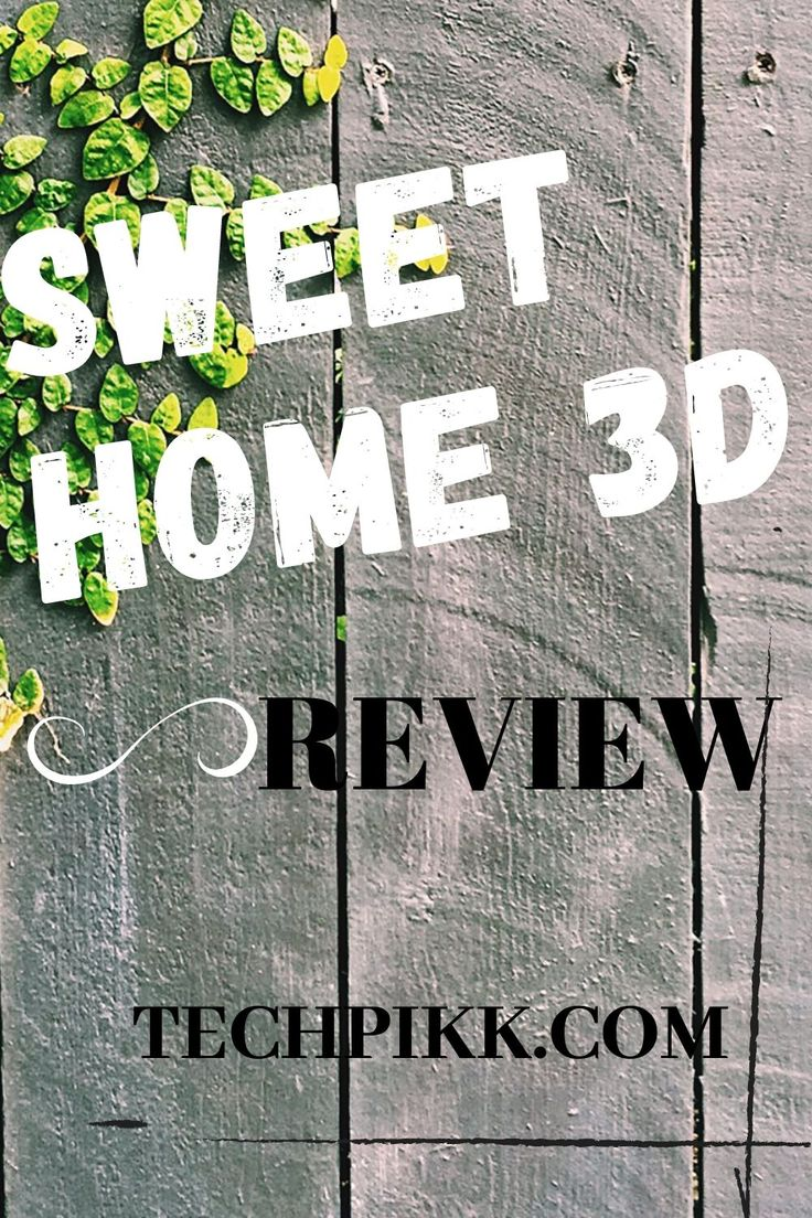 Sweet Home 3d Review In 2020 Sweet Home 3d House Plans Sweet