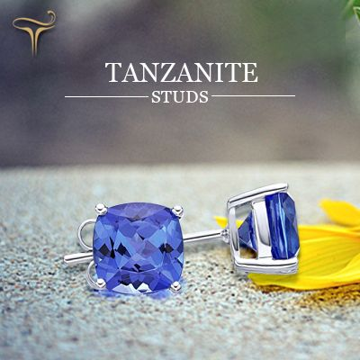 A lovely pair of Tanzanite Studs!