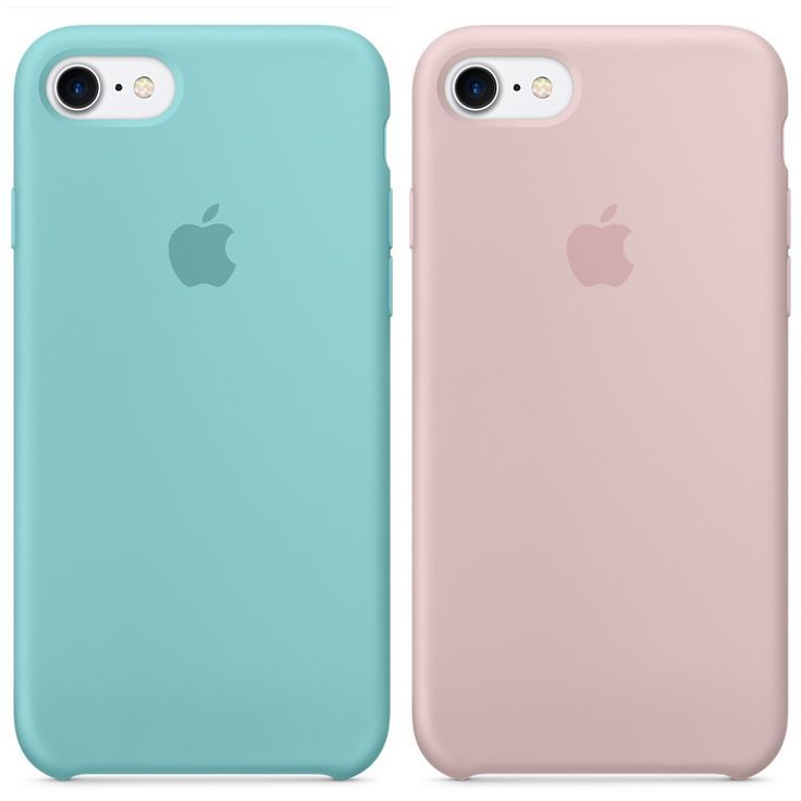 Apple Silicone Case For Iphone 7 Sea Blue Pink Sand Blue Iphone 6s Case Ideas Of Blue Iphone 6s Case Blueiph Iphone Phone Cases Apple Phone Case Iphone