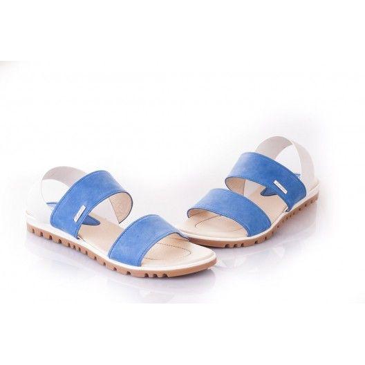 Dámske modré sandále za skvelé ceny - fashionday.eu