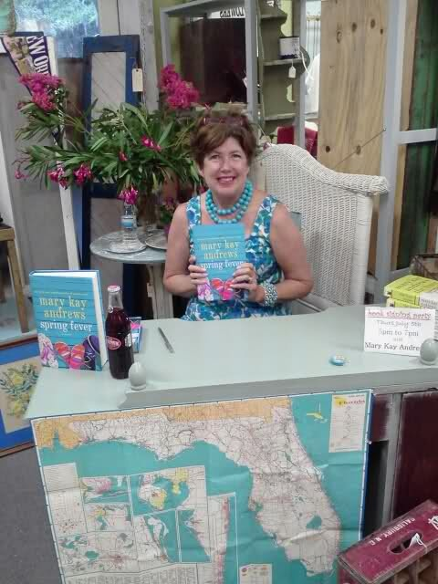 We had SPRING FEVER with Mary Kay Andrews at Seaside Sisters!