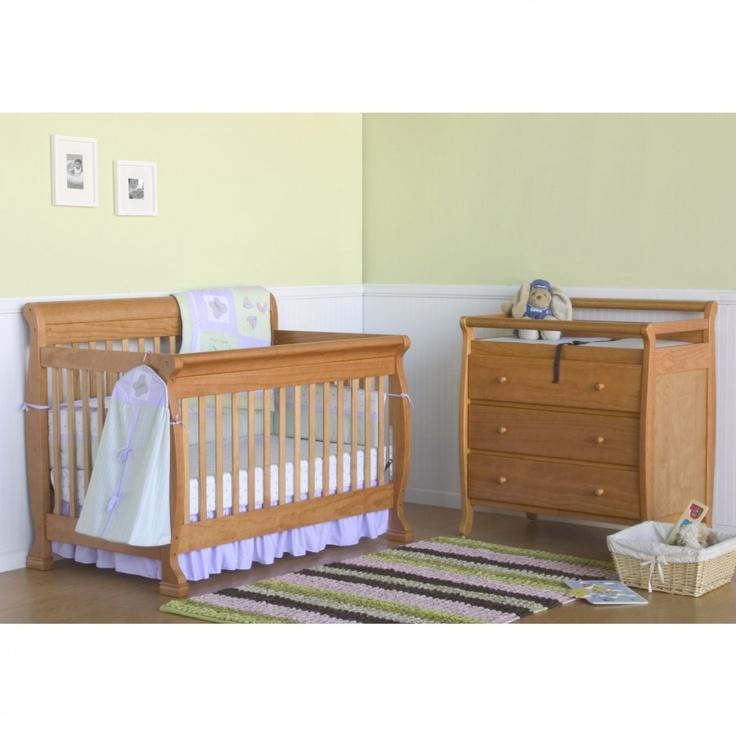 DaVinci Kalani 4-in-1 Convertible Crib Nursery Set With