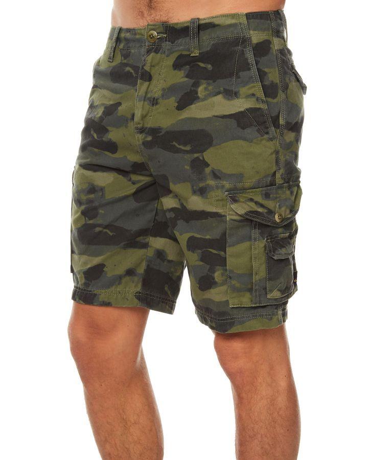 a8c272e7f1 Quiksilver Crucial Battle Mens Cargo Short Four Leaf Clover Res Four Leaf  Clover Res | Fashion 4 Men | Mens cargo, Fashion, Shorts with pockets