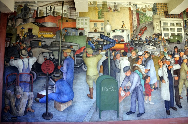 234 best images about artist diego rivera 1886 1957 on for Diego rivera san francisco mural
