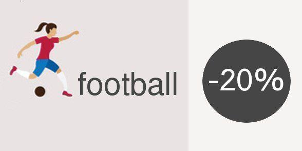 #foot #football Votre site web en .FOOTBALL est actuellement en promo