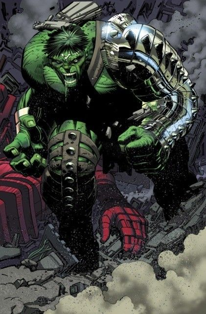 World War Hulk, Hulk smashes Hulkbuster