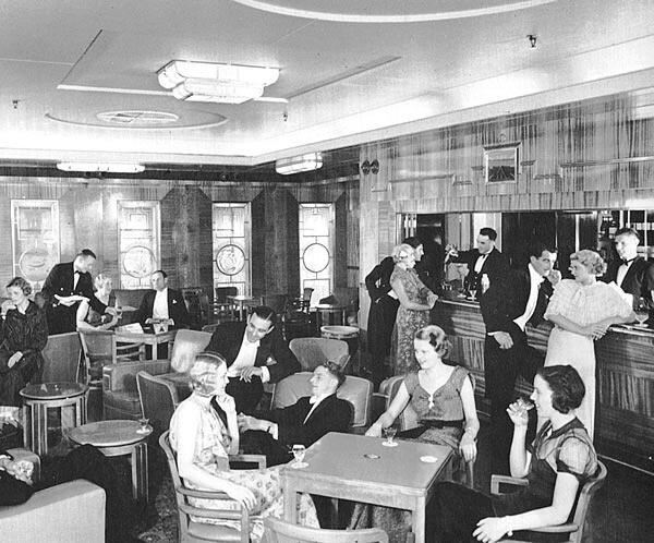 Image result for 1930s liner bar