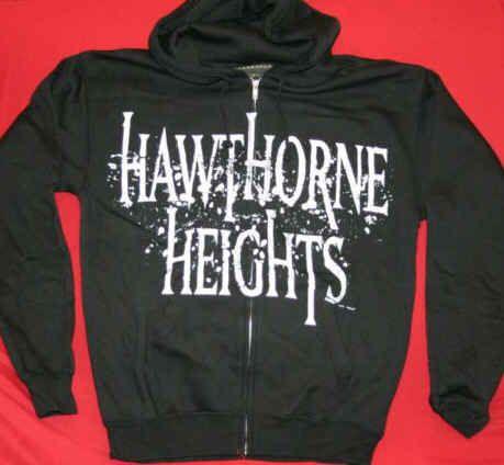 hawthorne heights apparel | Hawthorne Heights Zipper Hoodie Sweatshirt Black Large Omg this sweater is awesome!