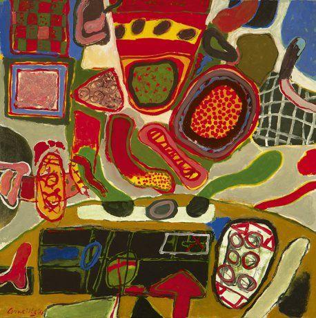 (Guillaume Cornelis Beverloo)  Corneille | 1922 - 2010 - De langzame dans van de zomer