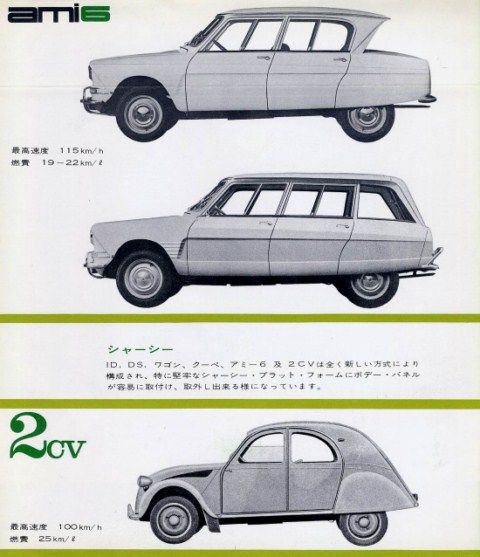 Citroen DS in Japan