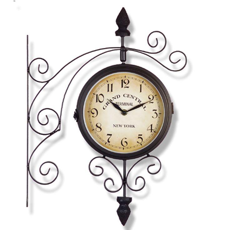 Les 25 meilleures id es de la cat gorie horloge de gare - Horloge murale de gare ...