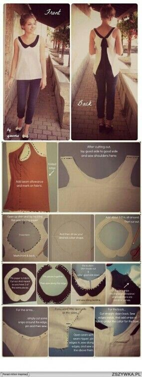 Shirt cutting revamped clothes- add fabric to the back of a fitted t to make it maternity!