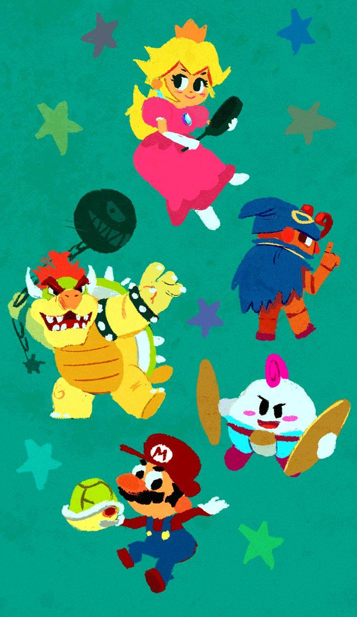 TOONIMATED DRAWS — Maysketchaday 15! Super Mario RPG fan gif! Easily...