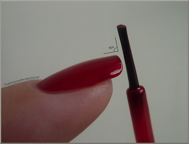 How to wrap your tips (so your polish doesn't chip as fast!) - this makes the polish look so much more....polished?