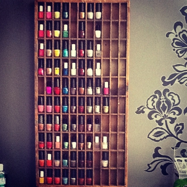 25 Best Images About NAIL POLISH RACKS On Pinterest