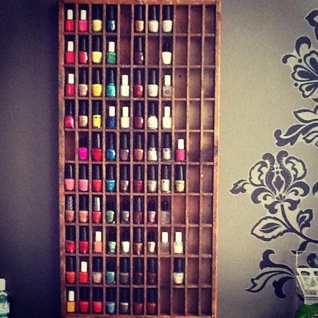 Nail Art Storage Ideas: 25 Best Images About NAIL POLISH RACKS On Pinterest