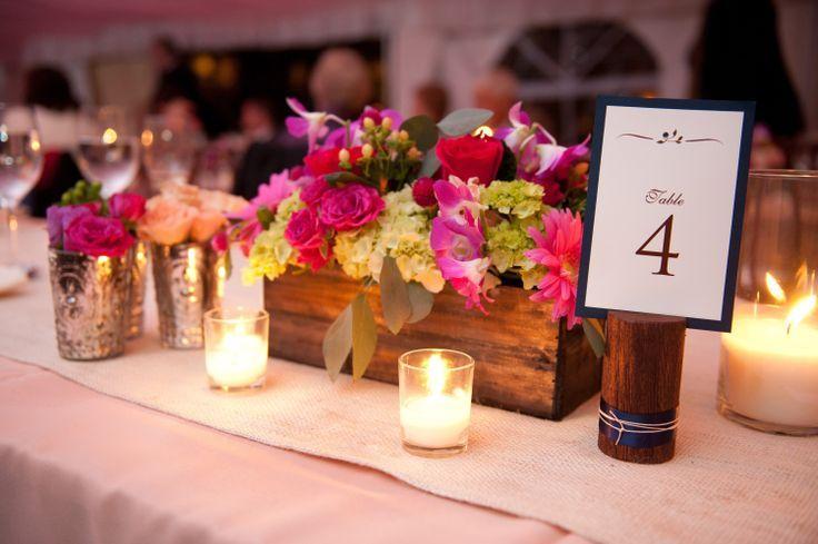 Centros de mesa para boda con velas: el estilo rústico está de moda