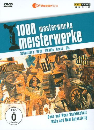 1000 Masterworks: Dada and New Objectivity [DVD] [Eng/Fre/Ger]